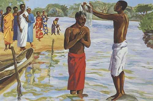 The water (Jesusmafa.com)