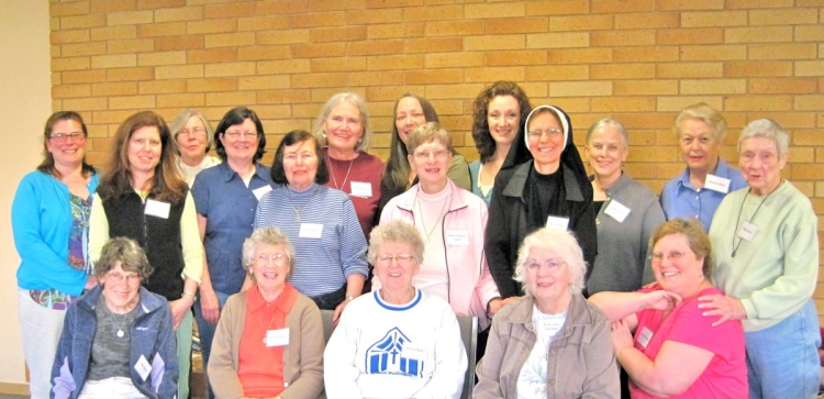 Community of the Holy Spirit Associates' Retreat, Seattle, 2010. (convent photo)