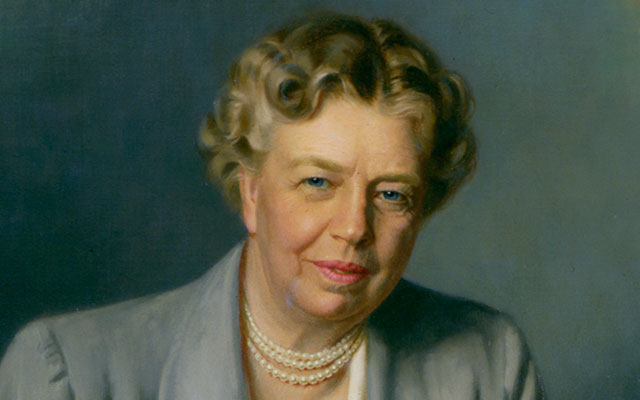 Eleanor Roosevelt, wife of President Franklin D. Roosevelt and head of the UN Commission on Human Rights, will be added to U.S. paper money in the coming years, the Treasury announced last week. She and the President were Episcopalians. (C-SPAN)