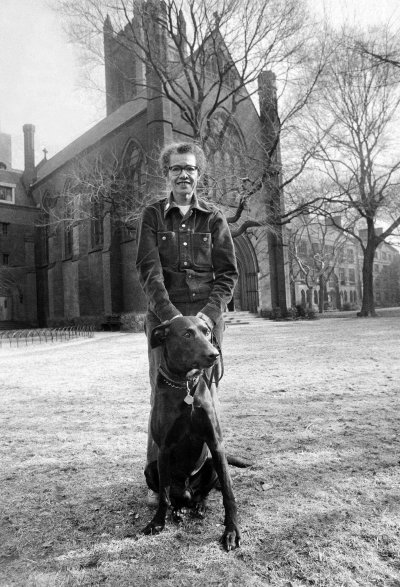 Dr. Pauli Murray, the first African-American woman ordained a priest in The Episcopal Church (1977), will have a building named for her at Yale University. She was a civil rights activist, lawyer and polymath who faced discrimination at key points throughout her career; the University of North Carolina would not admit her due to her race, and later Harvard Law School wouldn't admit her for doctoral work because of her gender, though she graduated #1 in her class at Howard University School of Law. (Yale Law admitted her instead.) She never won any of her protests, but she lived to see the academic barriers fall. However, Yale's new honour is something of a consolation prize; despite protests, the school has refused to remove the name of John C. Calhoun, a former vice-president of the USA, slaveowner and author of the purported legal justification for the Southern states' secession in order to maintain slavery. Mother Pauli would probably have choice words to say about that. Above: at the General Theological Seminary in New York in 1974, where our Vicar made her acquaintance. She was part of a coterie of outstanding women at GTS who went on to (or had already achieved) distinguished careers, including the Revs. Ellen Barrett, Jeannette Picard and Carter Heyward. (Barton Silverman/The New York Times)