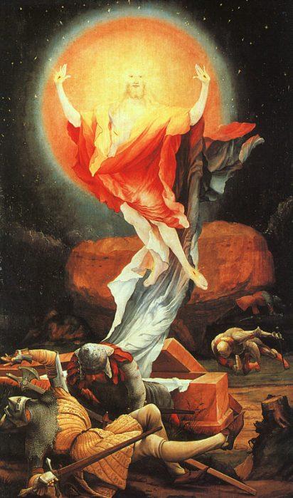Matthias Grünewald, c. 1515: Resurrection