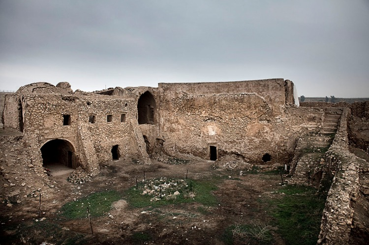 Ruins of St. Elijah's Monastery, Mosul, Iraq, 2009. It was built in the 6th Century. (Eros Hoagland/The New York Times)