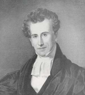 """Fr. Muhlenberg as a young man. He was the great-grandson of Henry Melchior Muehlenberg, the """"father of Lutheranism"""" in America, and the grandson of Frederick Muhlenberg, a pastor and member of the Continental Congress, later Speaker of the House of Representatives. William Augustus first made his mark as a teacher in Lancaster, Pennsylvania and led the town to establish one of the first public schools there; when he became a priest he continued to develop new educational theory and practice. He's considered a forerunner of John Dewey, the great educational philosopher. Muhlenberg insisted that a child who was not a great student in the beginning could become one later with the proper guidance. When he turned to religious education, he made sure that rigorous standards still applied, even as he sought to make the school a religious community. (anglicanhistory.org)"""