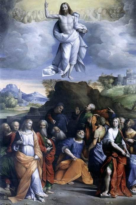Benvenuto Tisi di Garafalo, c. 1520: Ascension