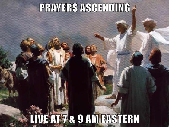 Ascension Day Webcast