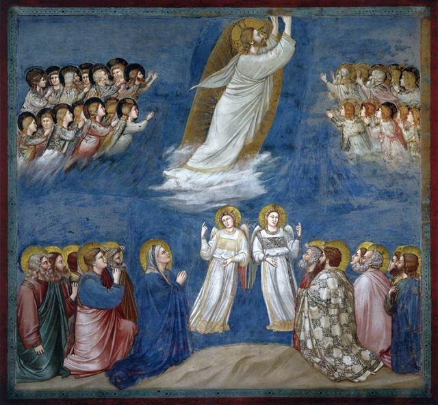 Giotto di Bondone: Ascension of Christ