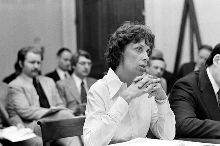 Patricia Derian has died, the U.S. Assistant Secretary of State for Human Rights under President Jimmy Carter. A veteran of the Civil Rights movement in Virginia and Mississippi, trained as a nurse and unversed in diplomacy, she fought smug, dismissive U.S. bureaucrats and foreign dictators alike to root out human rights abuses, and was credited with saving thousands of lives in Argentina, South Korea and the Philippines. She helped get Benigno Aquino released to the U.S. in 1980, two years after she walked out of a dinner given in her honour by Ferdinand and Imelda Marcos; instead she went to visit Aquino in his prison cell, still wearing her evening gown. (George Tames/The New York Times)