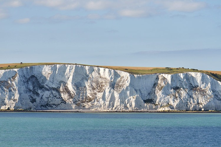 Augustine and his party very likely saw the white cliffs of Dover as they crossed the English Channel from France. (Natureflip)