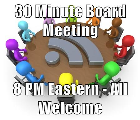30 Minute Board Meeting