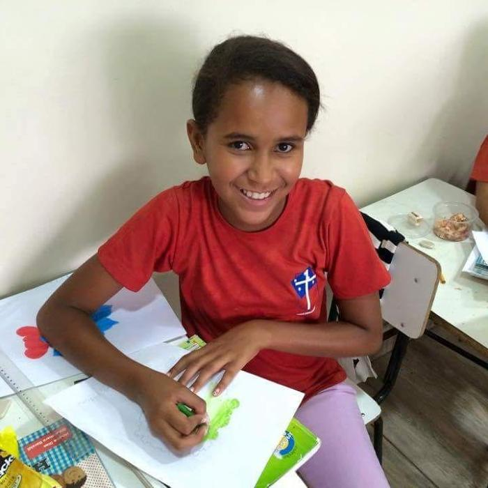 Our Daily Office Network mission plans are coming to fruition this week, including the After-School Program in the Diocese of Brasilia, a city where poor children only receive 2-3 hours of instruction per day in the public schools. Clergy from our own diocese, Indianapolis, will travel to Brazil next month with our contribution (of $600) and those of other parishes and individuals, complete with a matching grant up to $10,000. Meanwhile we've had a flurry of communications with Cuttington University, Liberia, and the U.S. Friends of Cuttington, where we have established the Martha Kelley Scholarship in Nursing; our check went out yesterday. Lunches and Lessons at St. Andre's School, Mithon, Haiti has now been paid, and the way is clear for us to send another $600 to Rosebud Episcopal Mission in the Diocese of South Dakota. Thanks be to God – and to our donors! But we could still use more. (Diocese of Brasilia)