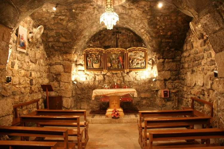 Chapel of St. Ananias, Damascus, Syria; the man who baptized St. Paul. (Lance Goldsberry)