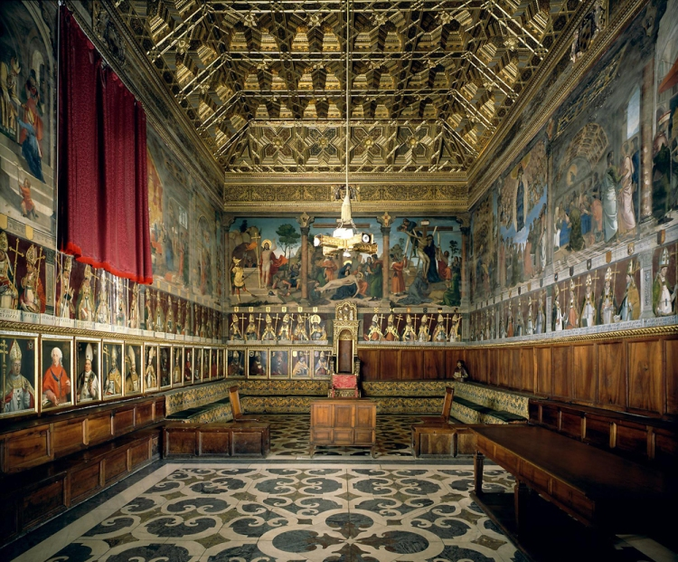 Chapter House at Toledo Cathedral, Spain (Wikipedia)