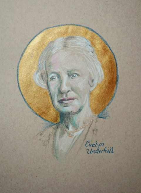 Evelyn Underhill had unusual experiences of peace from an early age, and spent her life trying to understand them. She came to Christianity in a roundabout way, moving from being agnostic to neo-Platonism, then finding herself drawn to Anglo-Catholicism. A spiritual director nudged her from intellectual theism to a more Christocentric point of view, and she came to view all of life as sacred, including the mundane and ordinary; that's where incarnation is located. For 30 years she was the bestselling author on these subjects. (The Rev. Tobias S. Haller)