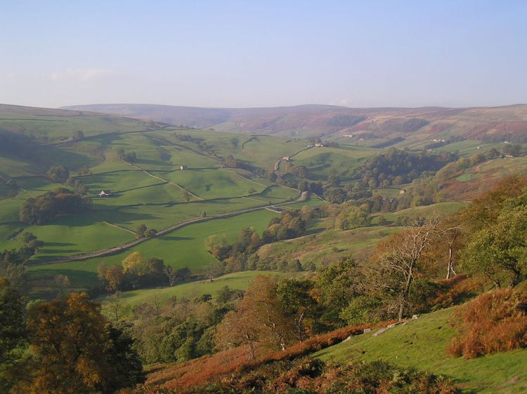 Glorify the Lord, O Nidderdale, North Yorkshire: sing praise and give honor for ever. (Wikipedia)