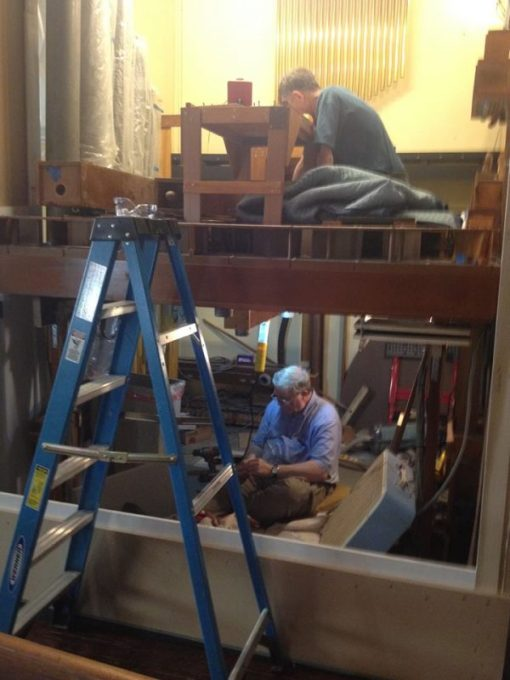 Most people only see this once in their lifetimes, and most churches only once a century: the installation of a new organ. St. Paul's, Jeffersonville, Indiana is now in the thick of it. My parish is starting the fundraising stage, which is $300,000 just for openers. (The Gathered Community)