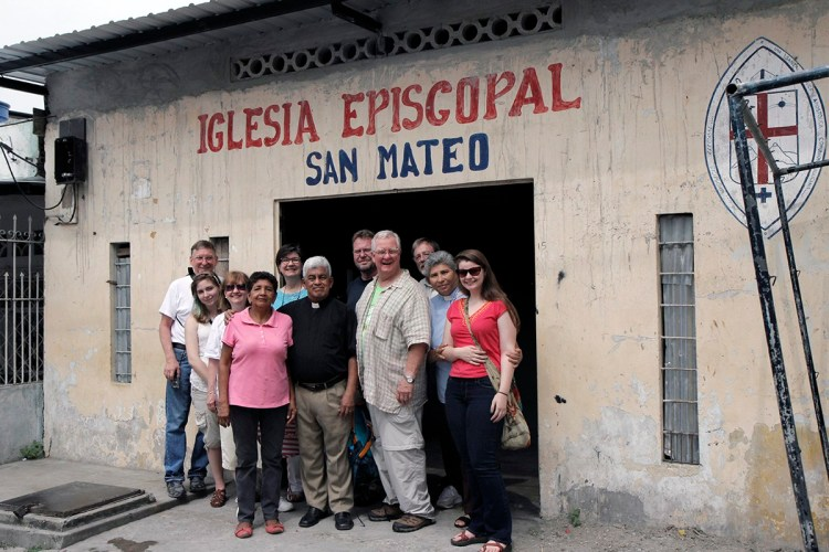 A deadly 7.8 earthquake hit the region around Guayaquil in the Diocese of Ecuador Litoral in April and the people are still recovering. But St. Matthew's, Guayaquil was able to receive longtime friends from the Diocese of Tennessee this month, renewing relationships formed in the late 1990s when the two dioceses were formal companions. Today Ecuador Litoral is linked to the Diocese of Puerto Rico, which sent medical professionals to a pop-up clinic in obstetrics and gynecology, pediatrics, general medicine and psychology for the survivors. Meanwhile the Tennesseans toured parishes and engaged in deep listening to what the people have been through. Ecuador Litoral, like Puerto Rico and other dioceses in Episcopal Province IX, is engaged in longterm efforts to achieve self-sustainability; the Church of Jesus the Lord in Guayaquil is opening an empanada stand to sell its stuffed pastries, hoping to turn it into a full bakery with seed money added by the Americans. (Lynette Wilson/Episcopal News Service)
