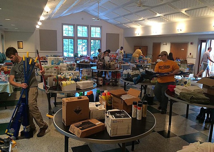 The Diocese of West Virginia, its parishes and Episcopal Relief and Development have teamed up to provide succor and practical assistance to the victims of last week's floods, which killed 23 – most in Greenbrier County – and damaged thousands of homes and businesses. Three Episcopal churches in the county survived and took in refugees. St. James's in Lewisburg is the hub of United Way and diocesan efforts; its Facebook page now has 8000 followers. (United Way of Greenbrier Valley)