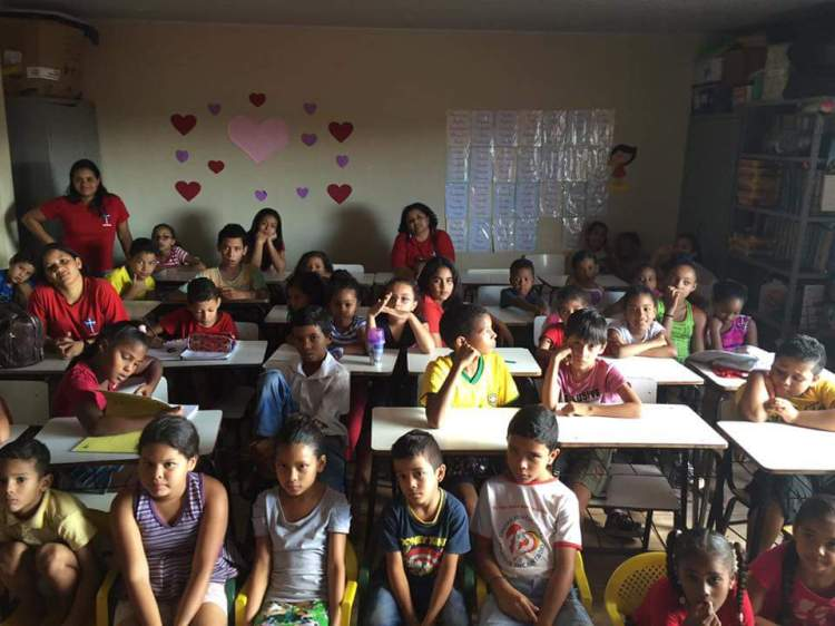 The after-school program in the Diocese of Brasilia is at capacity, and one thing our gift to them does is to increase the number of children who get to participate. Public schools in Brazil's capital are only open 2-3 hours a day, so this program is vital. (World Mission Committee, Diocese of Indianapolis)