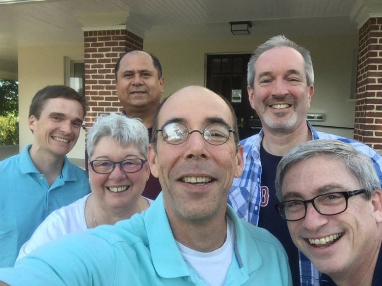 The Episcopal Church held its annual College for Bishops this week, and it was surely predestined that the Class of '16 selfie would wind up on Twitter. Blame it on the ex-California surfer turned Bishop of Mississippi, Brian Seage; these six will likely stay close friends for the rest of their lives.