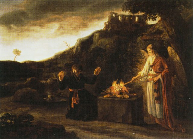 Constantij van Renesse: Gideon and the Angel