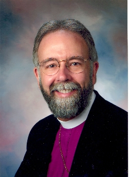 "The Rt. Rev. Gladstone ""Skip"" Adams, retiring Bishop of Central New York, is poised to accept a call as Provisional Bishop of the Episcopal Church in South Carolina, pending an upcoming election. TEC in SC is the loyalist portion of the old Diocese of SC, which was wrecked by schism led by an anti-Gay bishop who promised, if he was confirmed, to stay in TEC, then bolted the minute he could. As the Church Fathers testified long ago, anyone willing to break communion is willing to break the truth too. (CNY diocesan photo)"