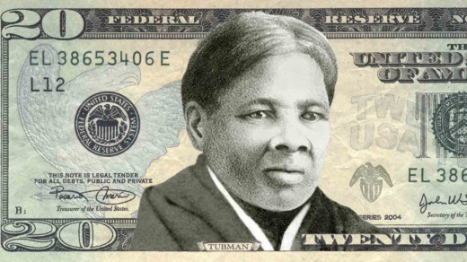 """Harriet Tubman, a Maryland slave who escaped to freedom, then made repeated trips back to the South to liberate a thousand others, will soon appear on the $20USD bill, replacing a """"man of the people"""" politician, slaveowner and Indian hater who became the 7th President of the United States. (freddyo.com)"""