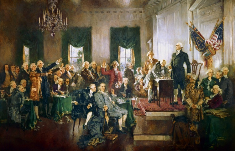 Howard Chandler Christy: Signing of the Constitution