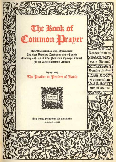Father Huntington's liturgical knowledge and his General Convention leadership led to the 1892 revision of the Prayer Book, which modernized and expanded the pastoral offices, softened certain Calvinist notions and introduced prayers for the dead.