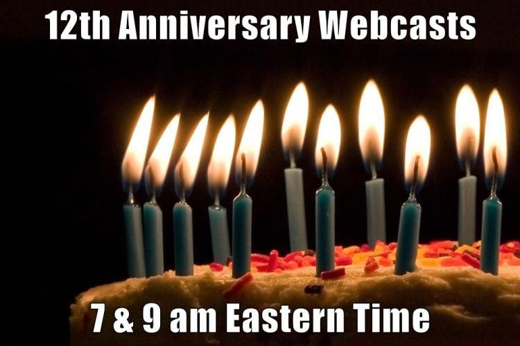 12th Anniv Webcast