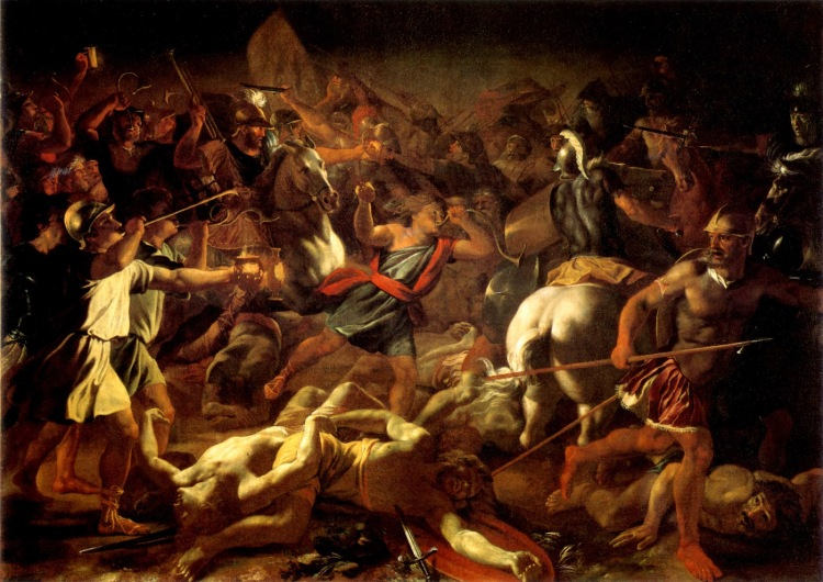 Battle of Gideon against the Midianites. (willvaus.blogspot.com)