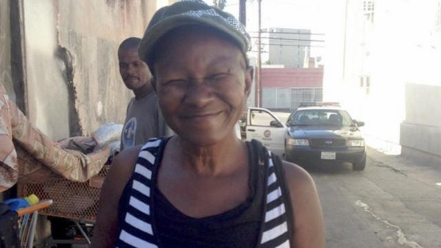 """Her name was Ida Mae Prince, but they called her """"the Mother Teresa of the homeless"""" in Los Angeles. She died recently in hospice care and was hailed for her countless acts of kindness and support for prostitutes, addicts and others who were down on their luck. She lived on the streets for 30 years herself, and gradually became a kind of peer counselor and friend to all her neighbours. She didn't own much more than a generous heart, but people loved her for it. A street missionary arranged a viewing for her, and a Roman Catholic parish in Inglewood donated a full funeral, a fine burial spot and pulled out all the stops. After all, it's not every day you look up and find Mother Teresa standing by your cardboard box. (Los Angeles Police Department)"""