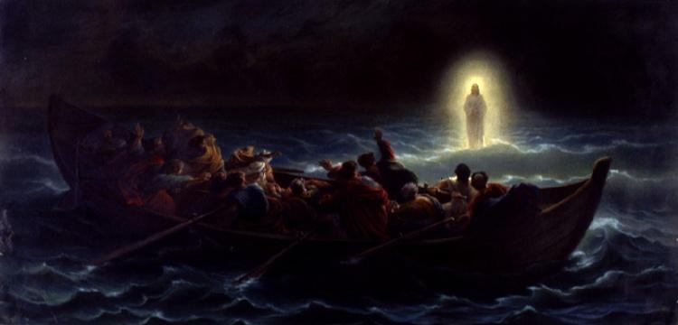 Amédée Verint: Jesus Walks on Water