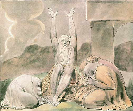 William Blake: Job Laments