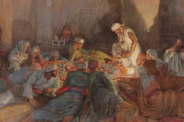 Elsie Anna Wood: Last Supper