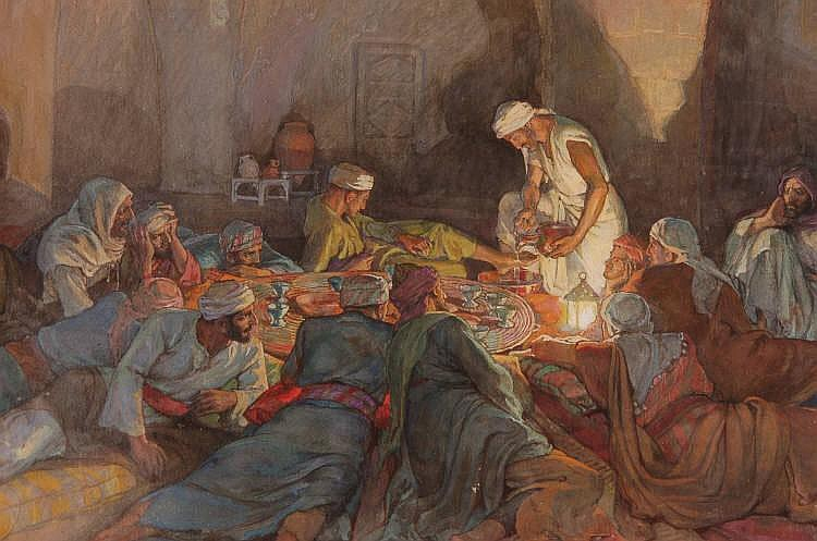 Elsie Anna Wood: Last Supper