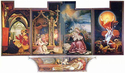 Matthias Grünewald: Isenwald Altarpiece, c. 1506