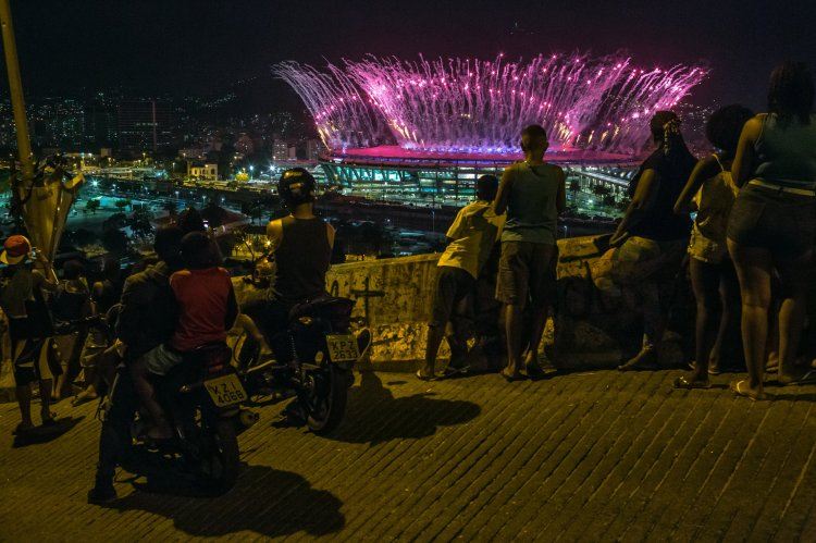 Fireworks over Olympic Stadium in Rio Friday night. Several of our members have mentioned Olympic athletes they know; let us pray for the health and safety of all involved amid the joy of competing. (Mauricio Lima/The New York Times)