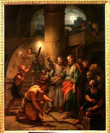 Claude-Guy Halle: The Deliverance of St. Paul and St. Barnabas (Musée Carnavalet, Paris)