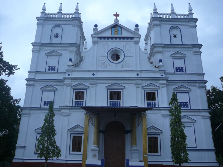 St. Bartholomew's Roman Catholic Church, Goa, India. Tradition says Bartholomew brought the Gospel there. (goanchurches.com)