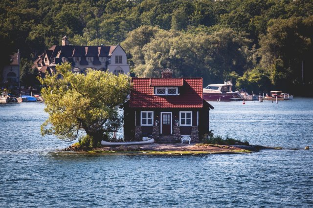 Thousand Islands, New York (Sara Fox/The New York Times)