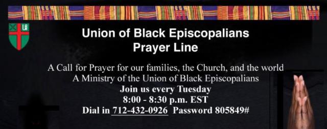 UBE Prayer Line