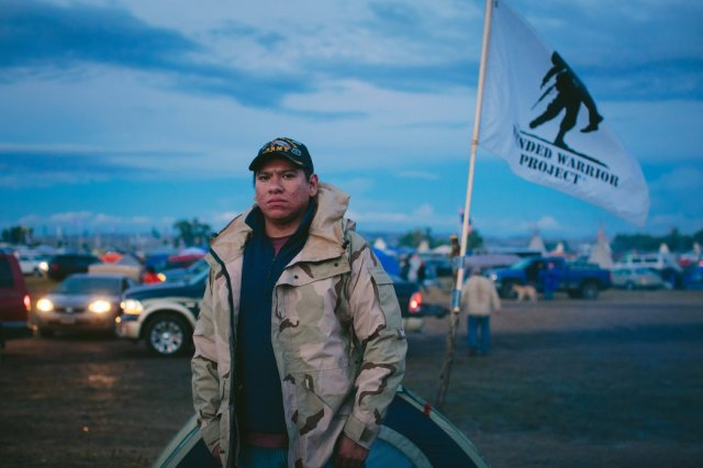 John Thomas Arnel of the Northern Arapaho Nation of Wyoming is a U.S. Army veteran who also witnesses on behalf of the Wounded Warrior Project, which assists war veterans with the often painful transition back to civilian life. Jobs are scarce on Indian reservations, and many young Natives join the military to serve their country. They didn't go overseas to fight terrorists so they could come back and face environmental disaster in their homelands.