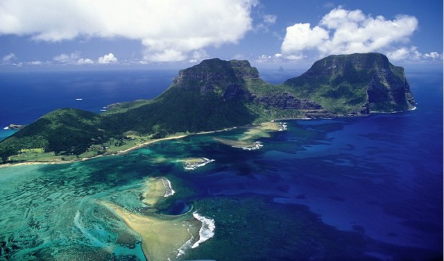 For the beauty of the Earth: Mt. Gower, Lord Howe Island, New South Wales (Mike Langford/Australian Geographic)