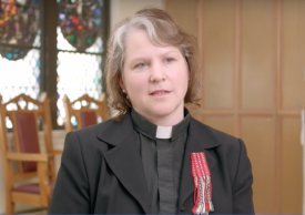 The Rev. Ryscilla Walsh Shaw was one of three suffragan area bishops elected last week in the Diocese of Toronto. She is Métis and has served as diocesan reconciliation ambassador since 1999, participating in all meetings of the Truth and Reconciliation Commission. She is Incumbent at Christ Church, Bolton. (diocesan photo)