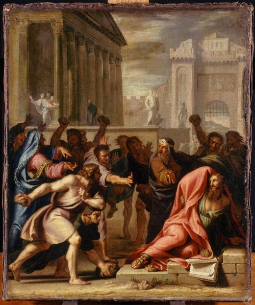 Jean-Baptiste de Champaigne: St. Paul Stoned at Lystra
