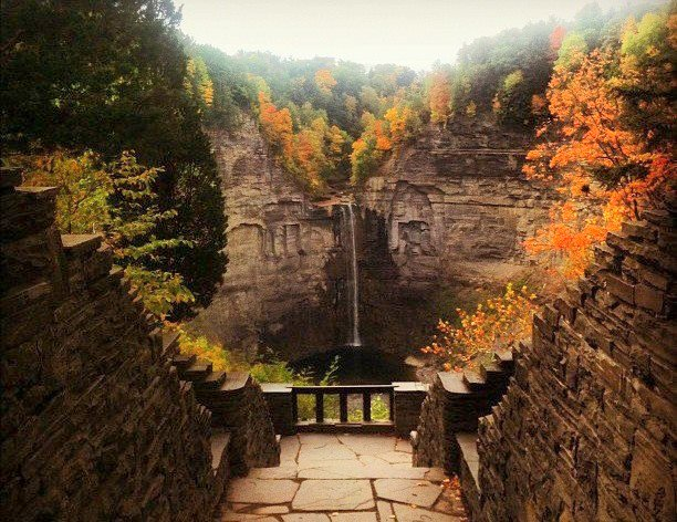 Taughannock Falls State Park near Trumansburg, New York, 2012: glorify the Lord. (anonymous photographer)
