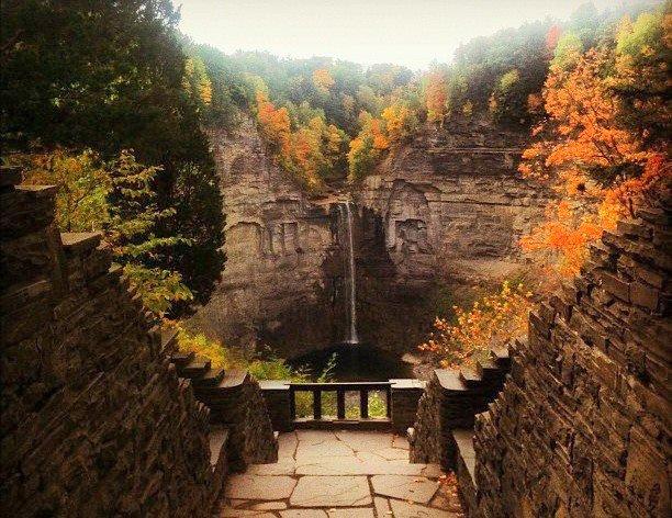 Taughannock Falls State Park near Trumansburg, New York, 2012: glorify the Lord. (anonymous photographer)