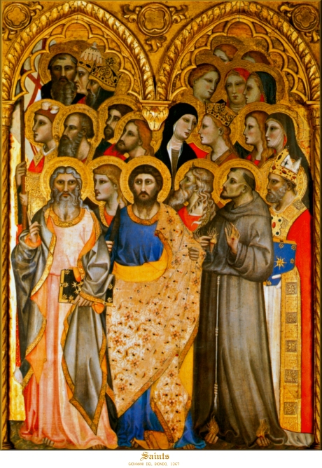 Giovanni del Biondo, 1367: All Saints