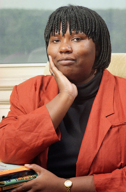 """Gloria Naylor has died, the author whose first novel, """"The Women of Brewster Place,"""" won the National Book Award in 1983, and was soon made into a successful miniseries by Oprah Winfrey. Ms. Naylor was part of a wave of talented African-American women writers, including Toni Morrison and Alice Walker, who first achieved critical and commercial success in the late '70s and '80s, giving voice to vivid female characters whose stories of racism, sexism, poverty, violence and Gay rights had seldom been told. (Tom Keller/Associated Press)"""