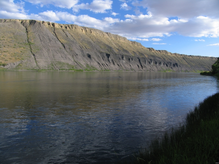 White cliffs over the Missouri River near Fort Benton, Montana: Glorify the Lord, O springs of water, seas, and streams. #WaterIsLife (U.S. Geological Service)